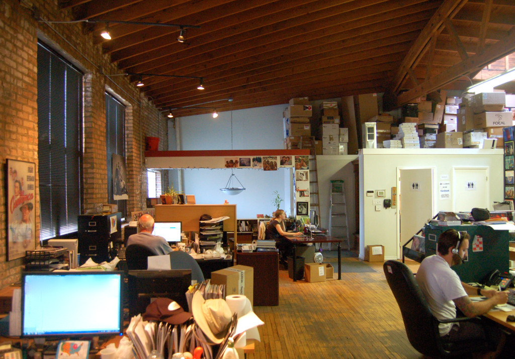 Interior of Music Direct