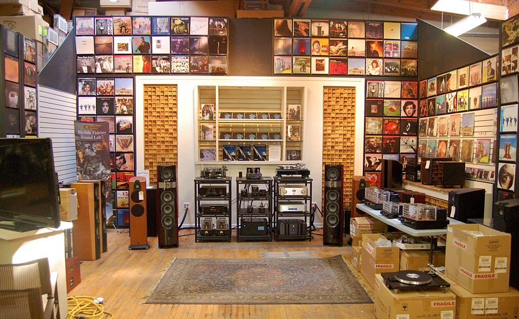 Reference System and Record at Music Direct
