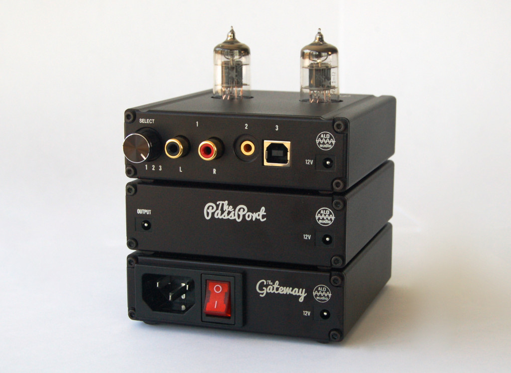 ALO Pan Am Headphone Tube Amplifier and USB DAC with Gateway and Passport