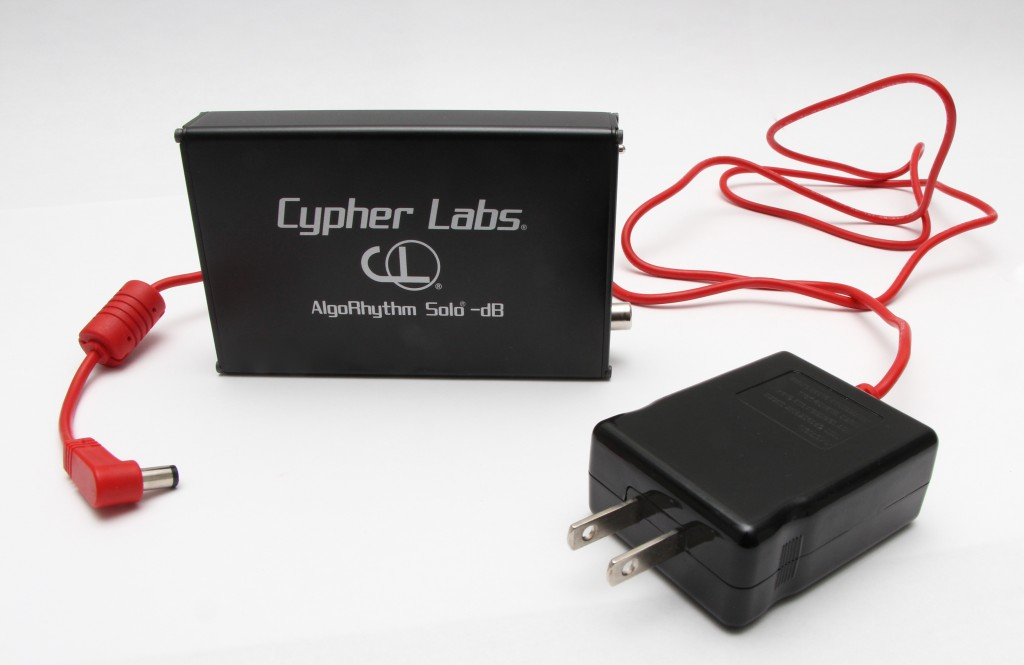 Cypher Labs Algorhythm Solo -dB with charger wall unit