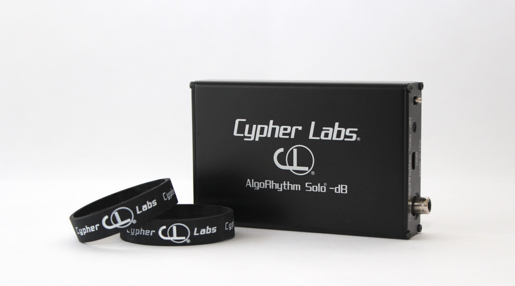 Cypher Labs Algorhythm Solo -dB with Silicone rubber bands