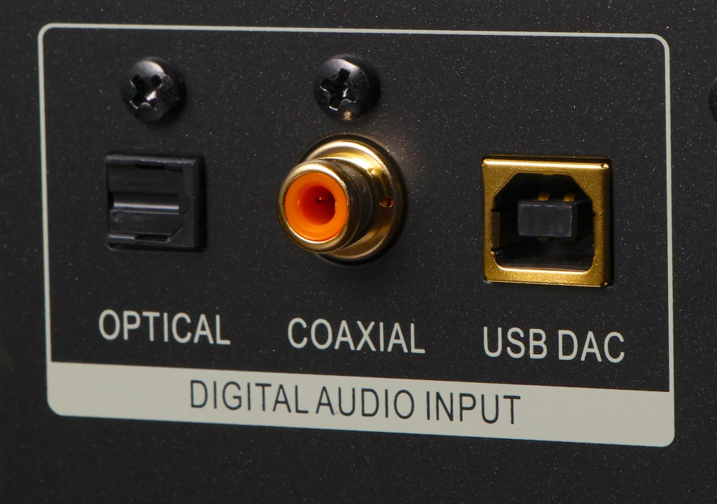 Oppo BDP-105 Back Panel Digital Inputs