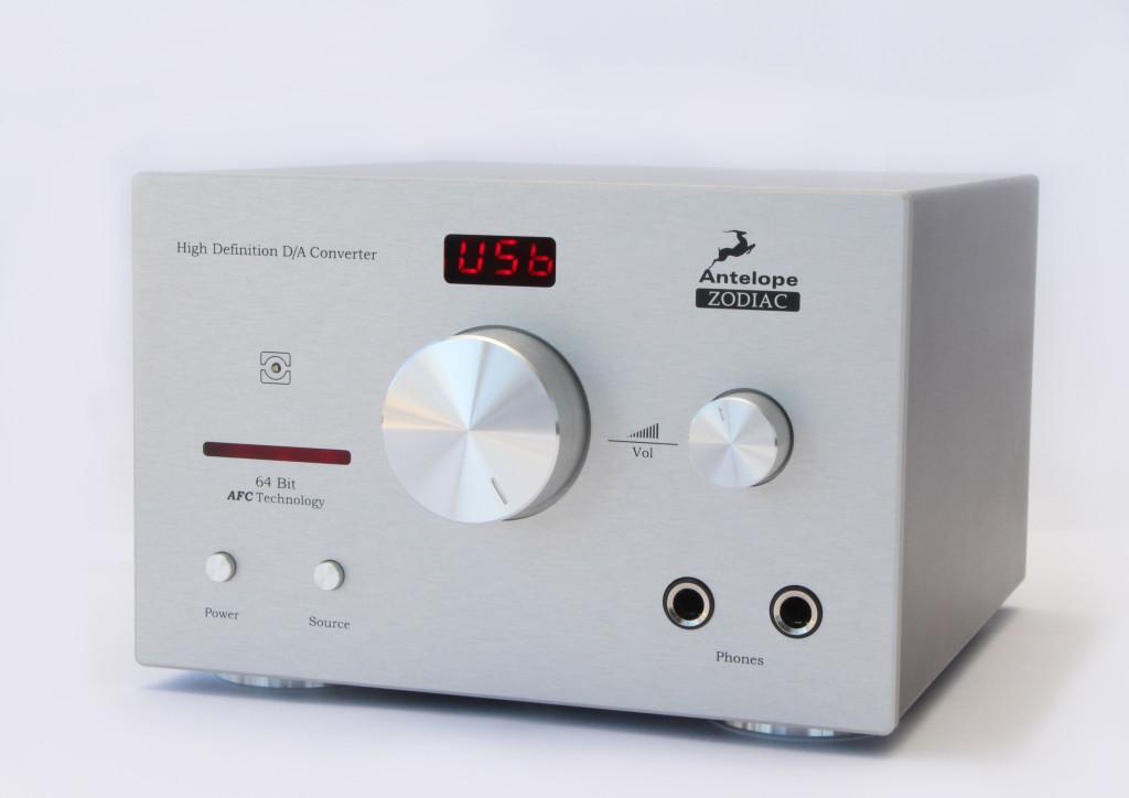 Antelope Audio Zodiac Silver DAC and headphone amplifer