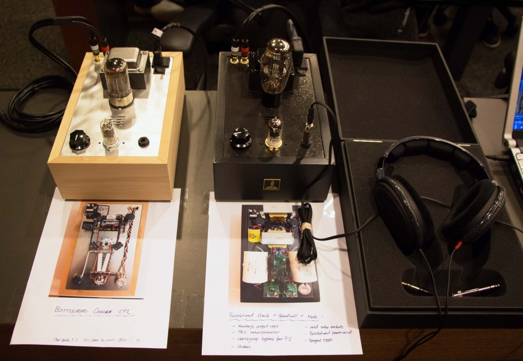 Bottlehead Crack Headphone Amplifier Speedball upgrade