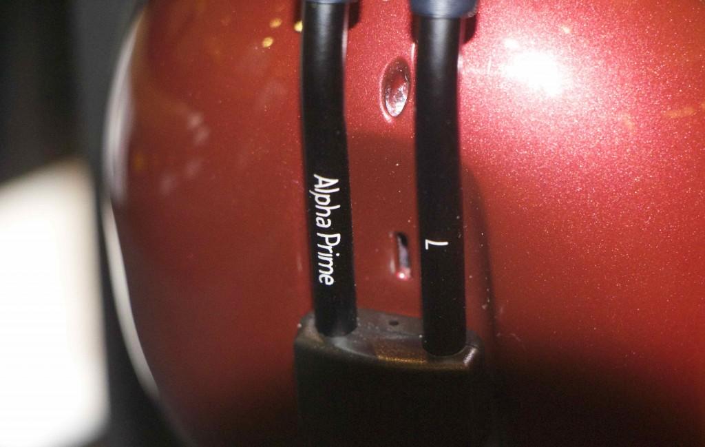 MR speakers prime close up