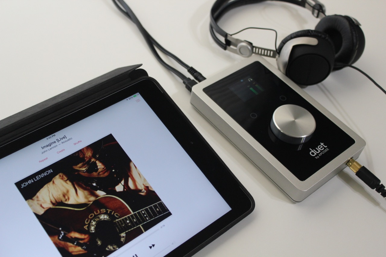 The Apogee Duet Review Audiohead