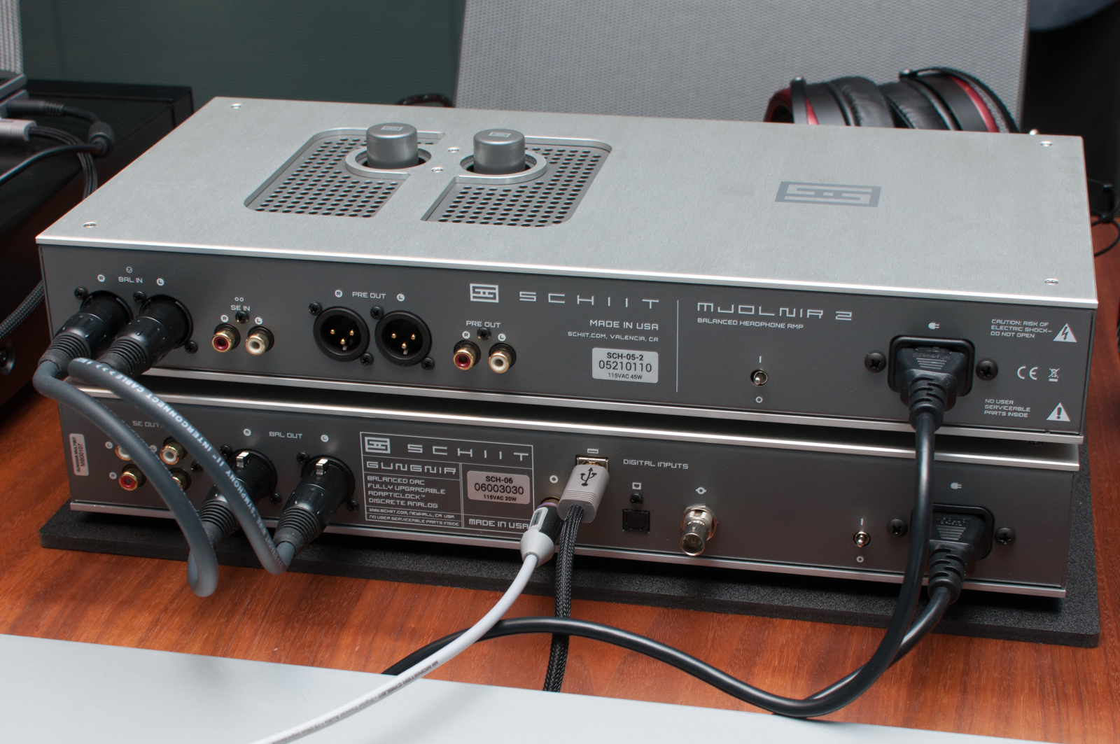 how to connect schiit magni 2