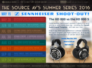 Big news for the west coast folks! A huge series of fortunate events are being put together byThe Source A/V Design group in Los Angeles calledThe Source A/V Summer […]