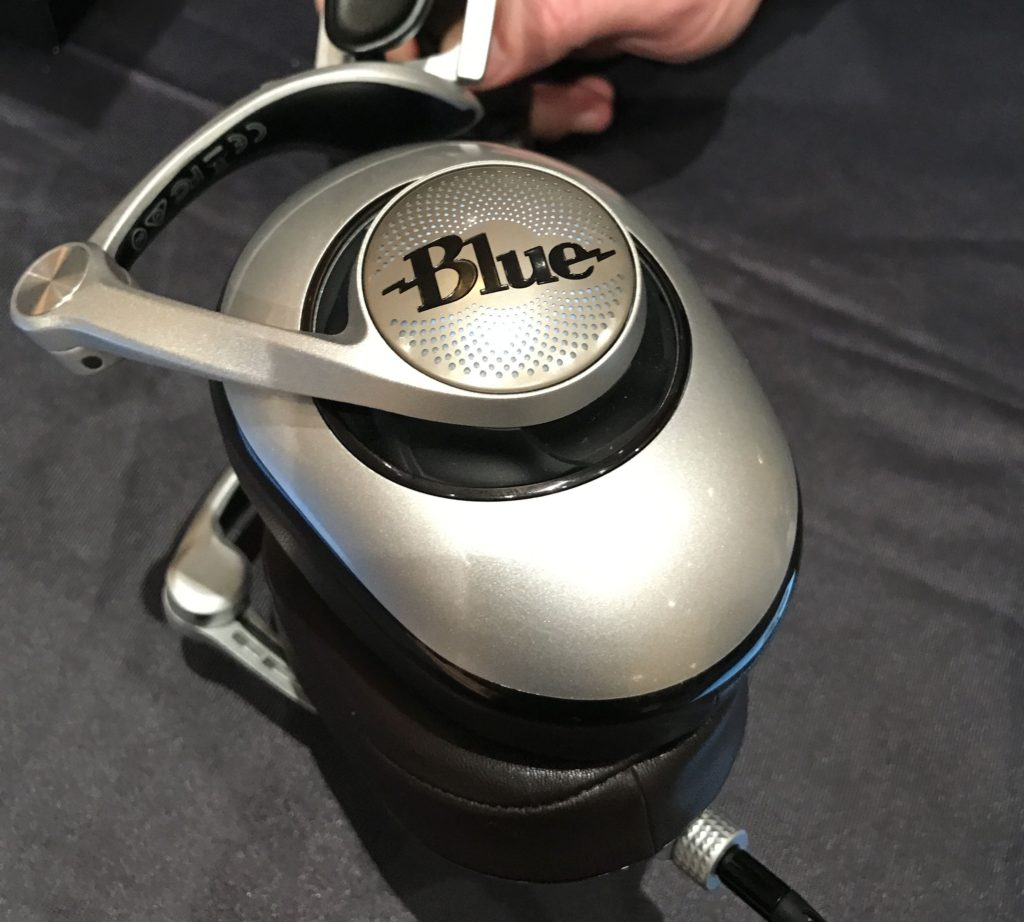 The New Blue Headphones, Ella and Sadie – CES 2017