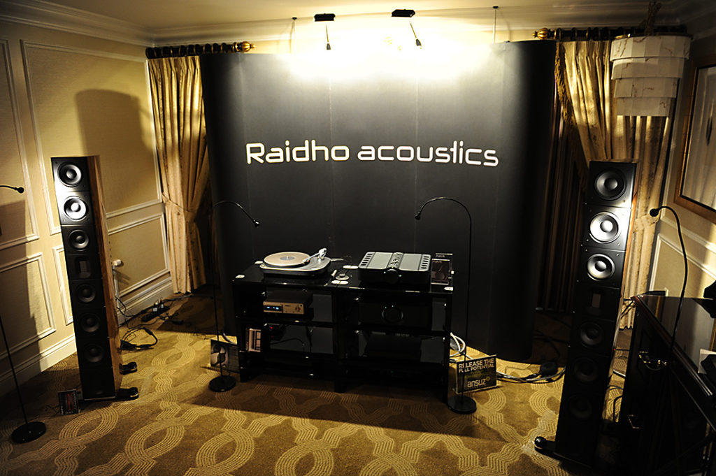 Raidho Acoustics with Aavik and Nagra – CES 2017