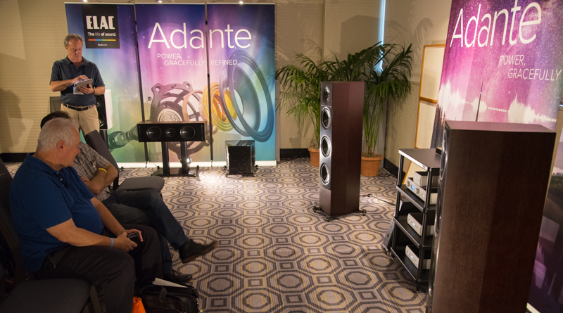 Andrew Jone's ELAC Adante Series Set For August Release