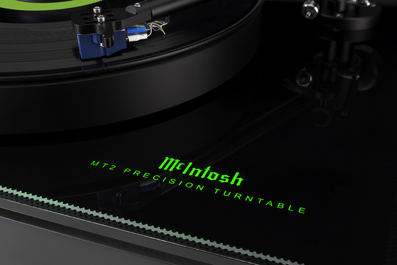 The New MT2 Precision Turntable From McIntosh