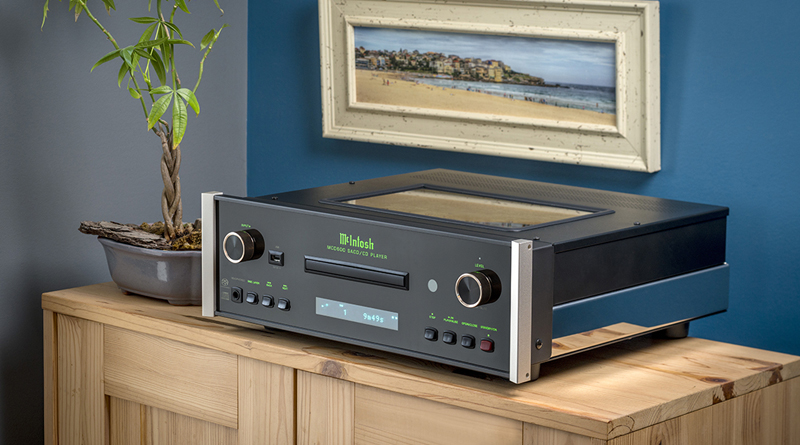 The New MS500 Streamer and MCD600 SACD/CD Player from McIntosh Labs