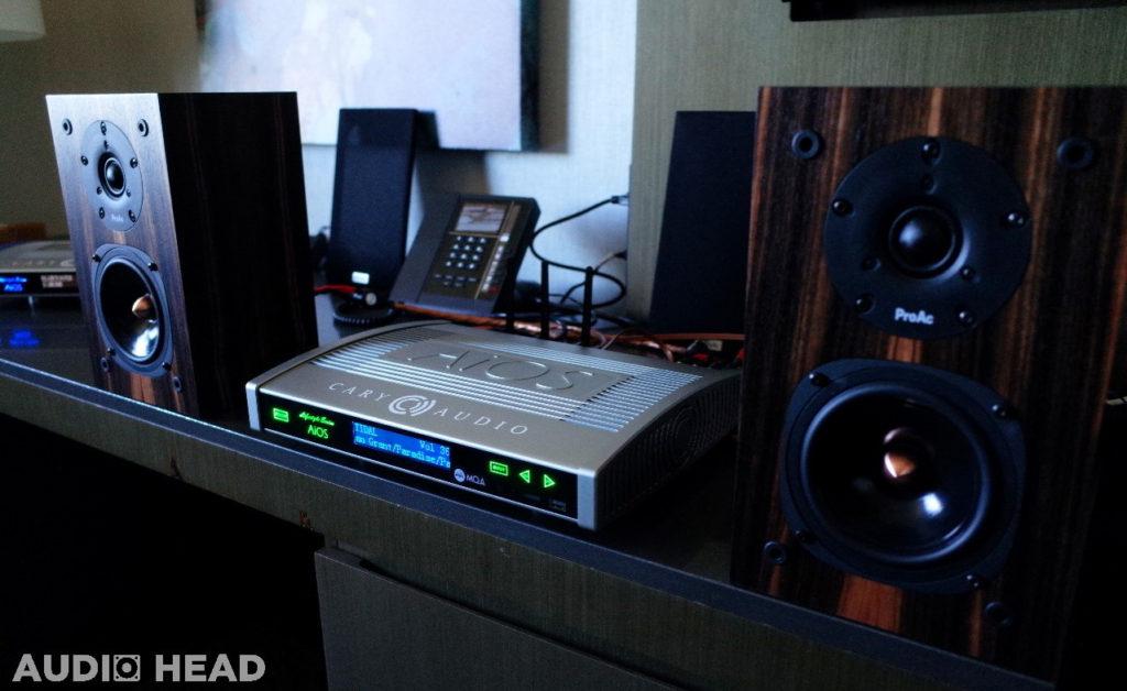 Cary Audio, ProAc and Wireworld – RMAF 2018