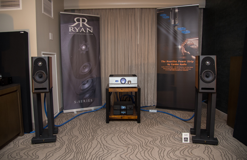 Ryan Speakers and Pass Labs – RMAF 2018