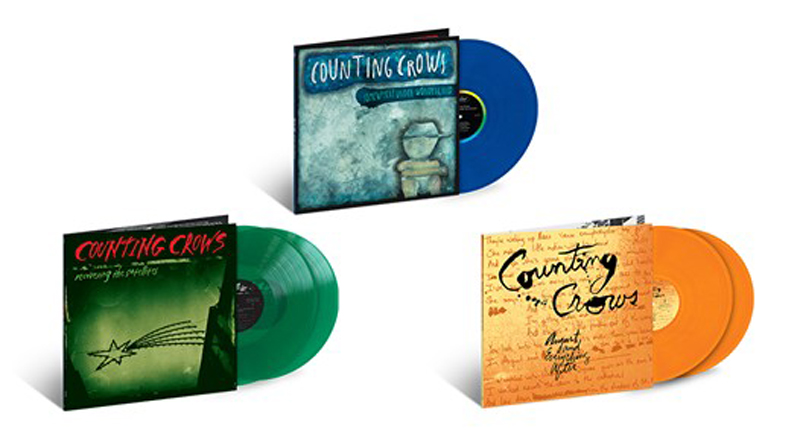 Counting Crows Reissue A Three Album Limited Run of 180-Gram Vinyl
