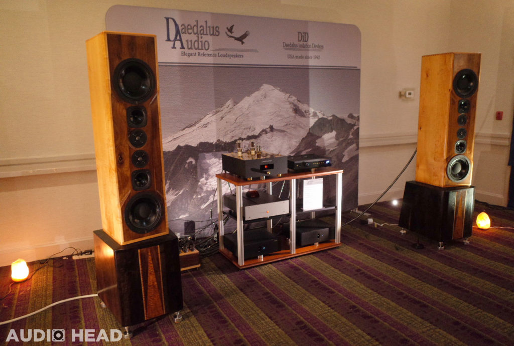 Daedalus, Linear Tube Audio, LamizatOr, WyWires; All Reference – CAF 2018