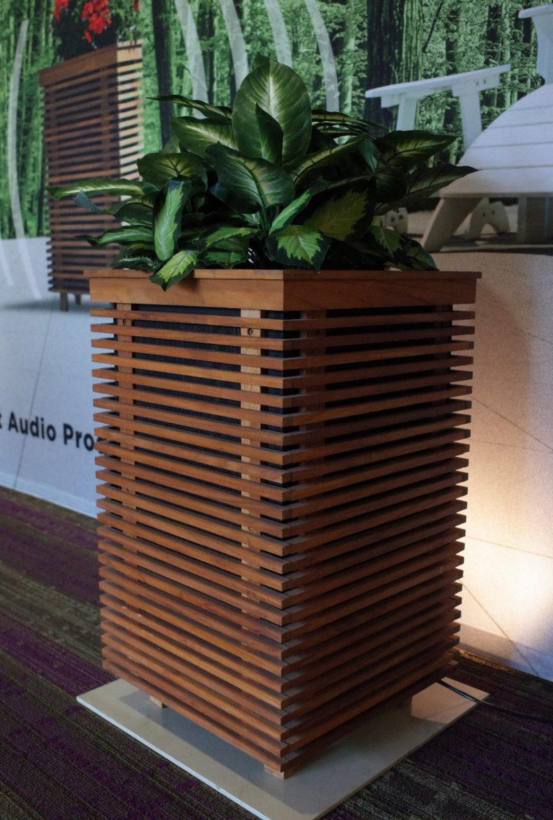 Planter Outdoor Speakers