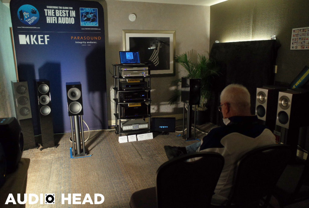 KEF, Parasound, Straight Wire, The Vinyl Revivers, The Audio Hunters – CAF 2018