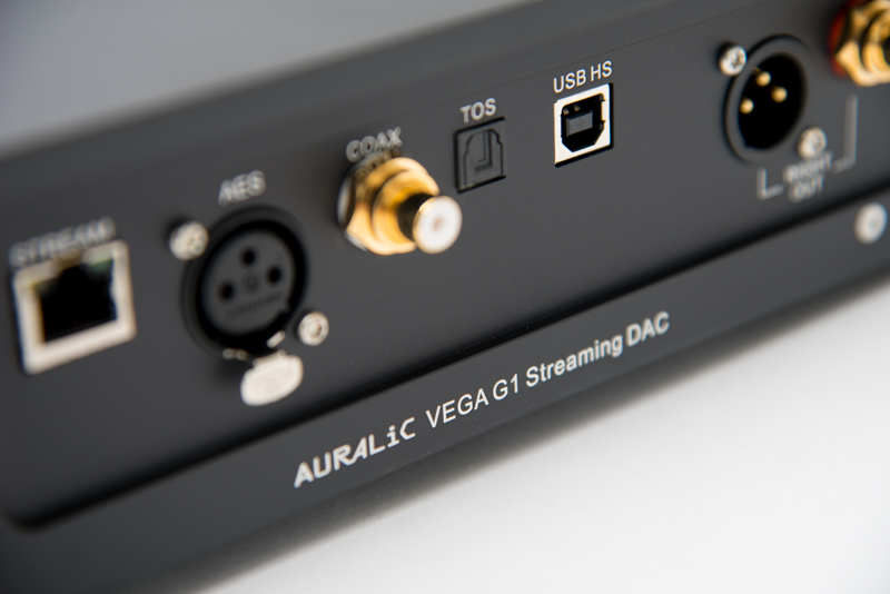 Auralic VEGA G1 Back Panel